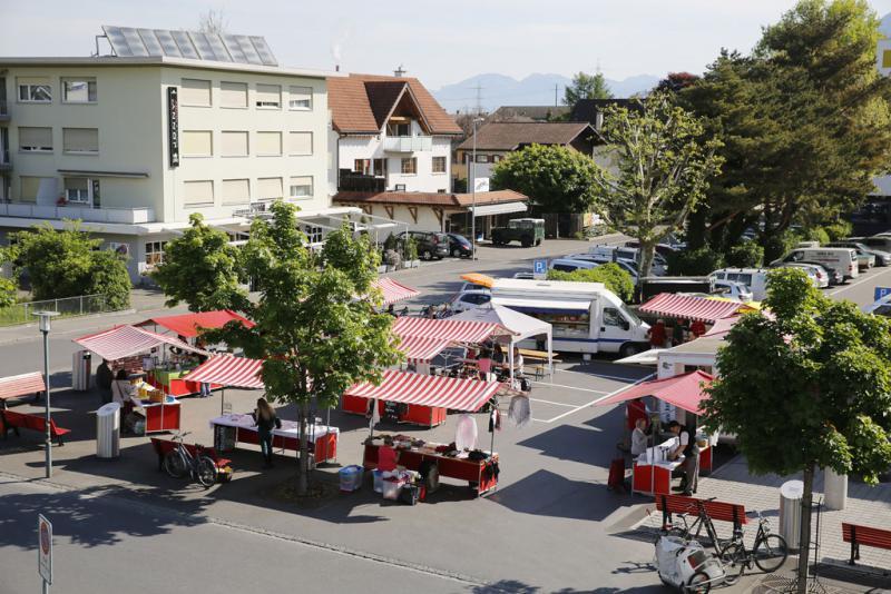 Chlausmarkt @ Marktplatz Seeli Buchs