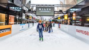 Eislaufen in Buchs und Nostalgie Kinderkarussell @ dGass
