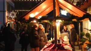 Weihnachtsmarkt im Zentrum @ Bahnhofstrasse Buchs