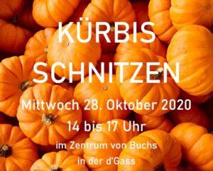 Kürbisschnitzen 2020 @ d'Gass | Buchs | Sankt Gallen | Schweiz