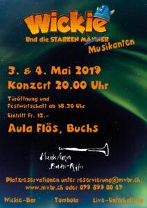 Unterhaltungsabend Wickie und die starken Musikanten @ Aula Flös Buchs   Buchs   Sankt Gallen   Schweiz