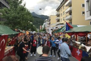 interkutlturelles Strassenfest grenzenLOS @ Bahnhofstrasse