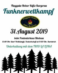 Funknerwettkampf @ Pontonierhaus Rheinau | Buchs | Sankt Gallen | Schweiz