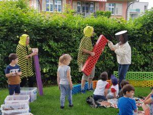 Bauen mit Bioblo @ Generationenspielplatz Kappeli | Buchs | Sankt Gallen | Schweiz