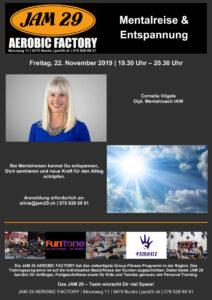 Mentalreise & Entspannung @ JAM 29 AEROBIC FACTORY | Buchs | Sankt Gallen | Schweiz