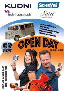 Open Day @ Bahnhofstrasse 54 | Buchs | Sankt Gallen | Schweiz