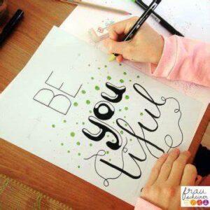 Hand-Lettering für Teenager ab 11 Jahren @ Schrybi AG, Buchs | Buchs | Sankt Gallen | Schweiz