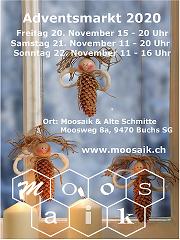 Adventsmarkt in der Alten Schmitte und im Moosaik @ Alte Schmitte im Moos
