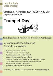 Trumpet Day @ Singsaal, Oberstufenzentrum Grof, Buchs